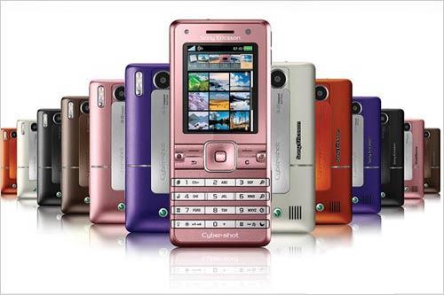 最得女人心粉红色索尼爱立信K770推出