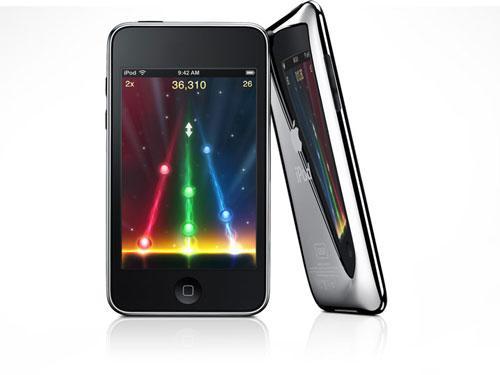 精致纤薄全金属苹果iPodtouch2图赏