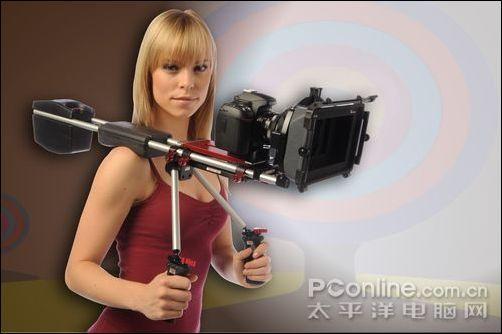 美女教拍电影 zacuto视频单反摄像套件