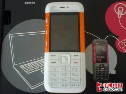 厚度9.9毫米诺基亚5310橙白色卖1300