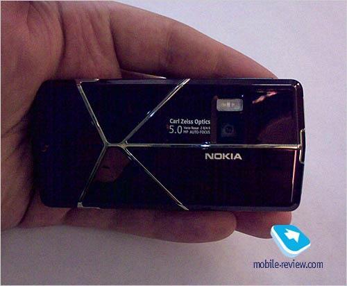 棱镜艺术诺基亚神秘滑盖拍照手机亮相