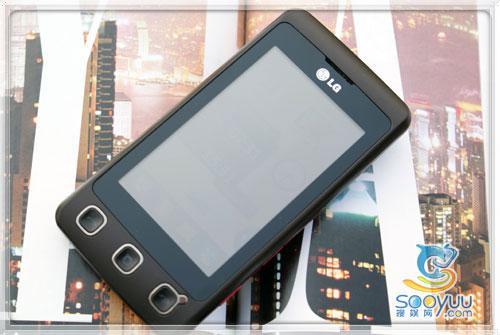 唯美小甜饼LG大屏触摸手机KP500评测