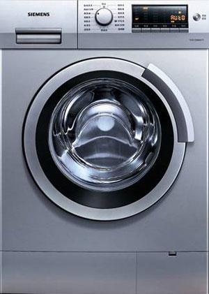图为:西门子3d正负洗系列洗衣机wm12s461ti