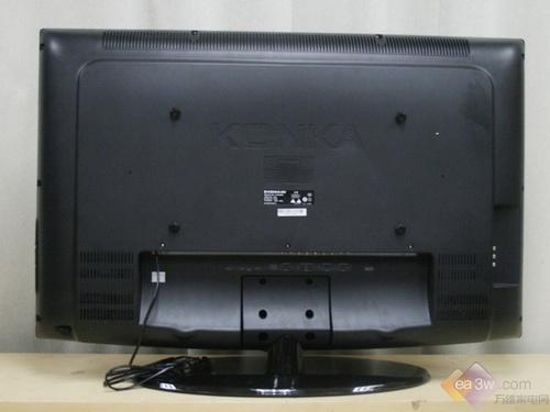 康佳 lc37gs80c液晶电视背部实拍