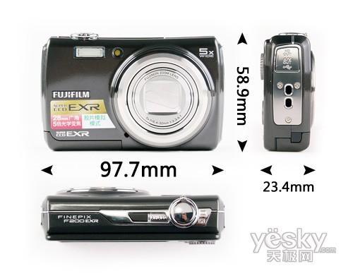 28mm广角5倍光变富士F200EXR详尽评测