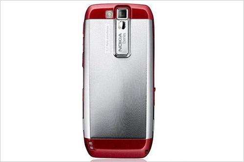 绝色商务美型机诺基亚E66红色版现身