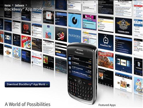 黑莓软件商店正式上线(组图)