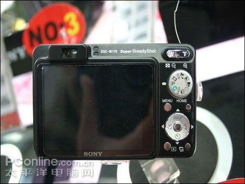 28mm广角笑脸快门索尼W170仅售1580元