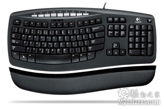 罗技推出ComfortWave450商务键盘