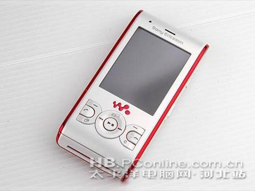 粉喜欢粉时尚 索爱W595价格超低1360_手机