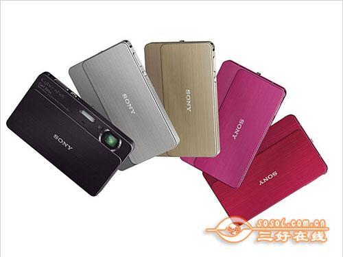 绚丽色彩卡片旗舰索尼T700特价2250元