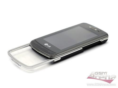 800万像素LG透明滑盖键盘GD900评测(4)