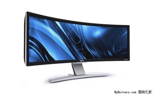 桌面新视觉NEC弧面超宽屏显示器上市