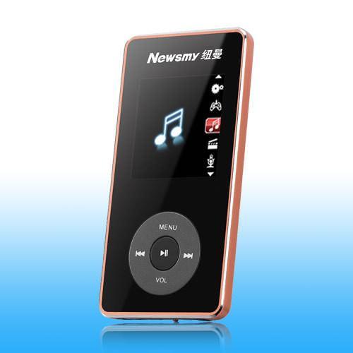 新品纯音乐播放器纽曼NUNUX05售价199