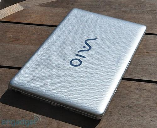 15寸宽屏 索尼新vaio nw笔记本多图评测