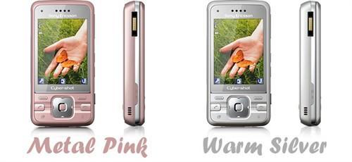 量少才希罕索爱C903推出粉色/银色版