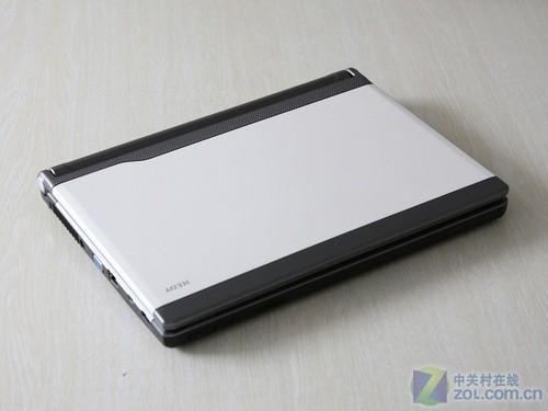 黑白相间指纹识别七喜V210笔记本评测