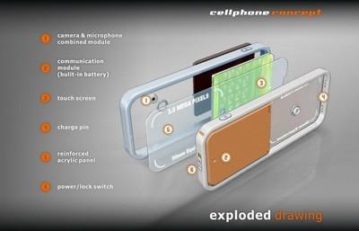 灵感/剔透/精髓玻璃质概念手机汇总(2)