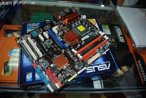华硕p5q3主板是一款完全支持ddr3内存系统的p45主板.