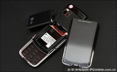 透明键盘LG触控滑盖GD900详尽评测