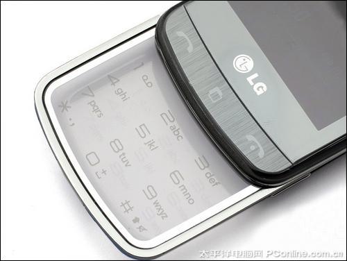 时尚前卫LG透明键盘GD900惊艳上市