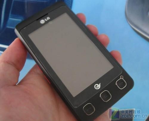 全屏触控纤薄时尚 LG KX500报价降98元