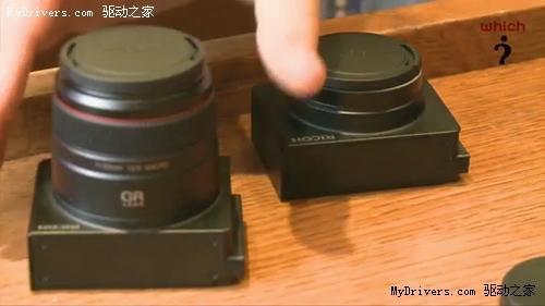 感光元件镜头一起换 理光革命新机GXR曝光