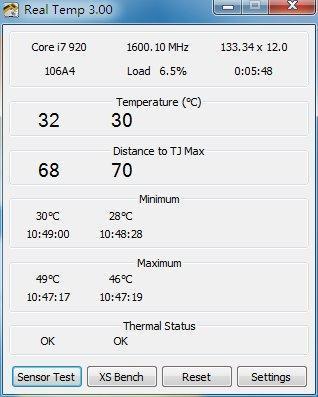 Intel处理器温度计Real Temp 3.40出炉 重大改进