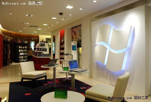 微软专卖进驻纽约第五大道奢侈百货