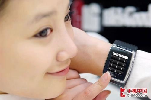 3G防水手表手机LG+GD910间谍装备预售_手机_科技时