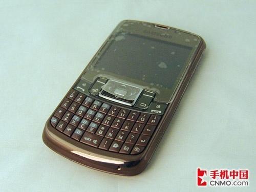WM系统E71 三星全键盘智能机B7320到货