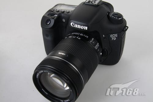 高端单反相机佳能7D带票套机售价12159