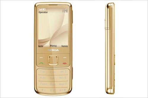 奢华升级诺基亚6700c全黄金版开售