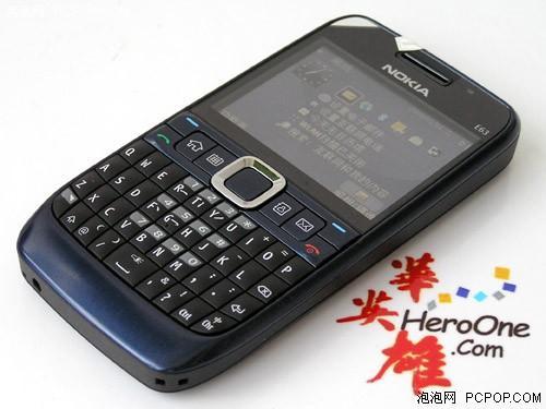 超薄3G商务诺基亚全键盘E63仅售1399