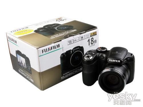 全景高清长焦数码相机富士S2600评测