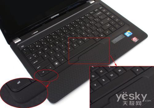 惠普cq42键盘拆机图解