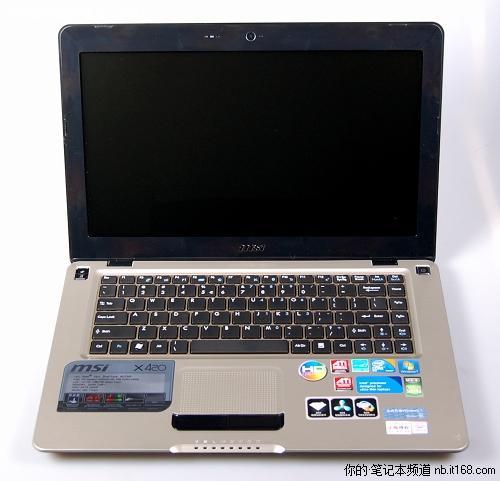 内外兼修微星独显CULV笔记本X420拆解