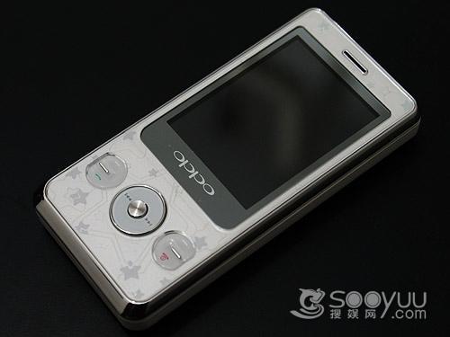 时尚可爱 oppo滑盖音乐手机a203评测