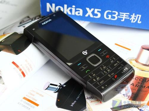 TD网络3G音乐机 诺基亚X5-00新鲜上市