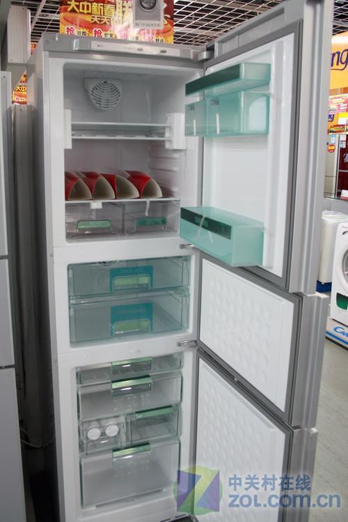 跌破七千元西门子三开门保鲜冰箱促销