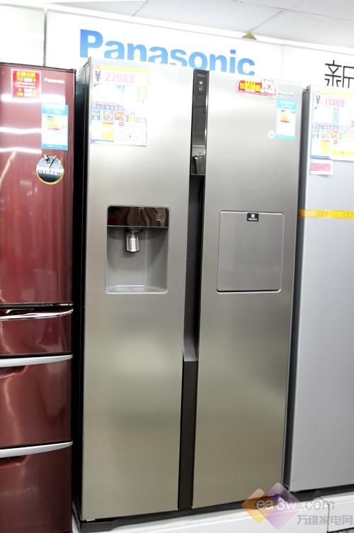 今年开始大力推出全新的对开门冰箱,松下对开门冰箱有着怎样的表现呢?