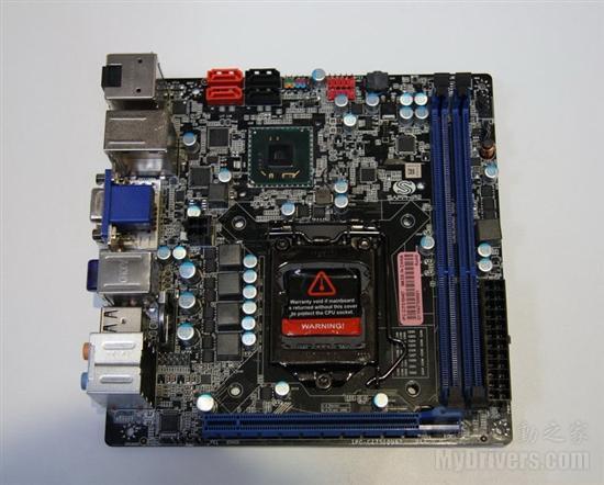 再接再厉蓝宝展示Z68H61主板