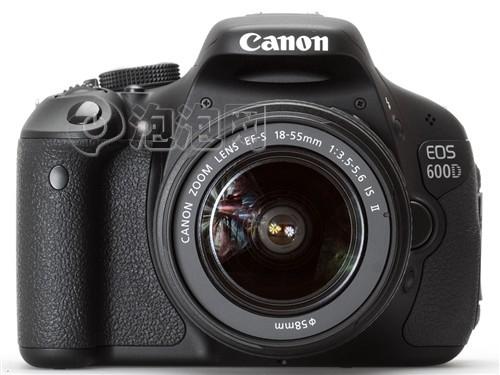 搭18-55mm镜头佳能600D套机售价4920元