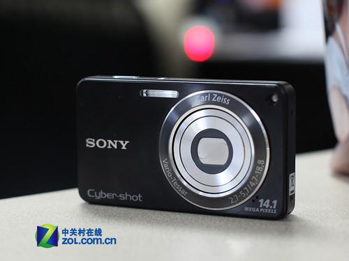 抛弃记忆棒 索尼26mm广角卡片机W350上市