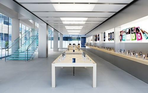 苹果商店下载_苹果手机店普洱金巢装饰工程公司经典案例