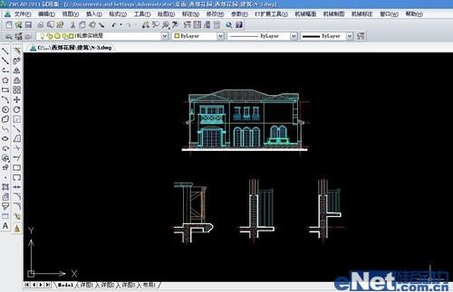 高效CAD教程中望CAD命令空间技巧cad裁剪超级布局图片