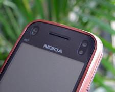 诺基亚 N97mini 棕色 细节图