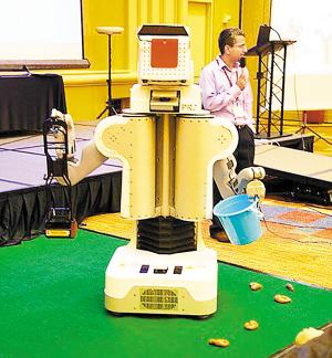 能捡垃圾的机器人-机器人越来越像 人
