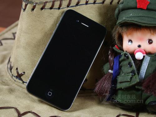 苹果 iPhone 4 黑色 外观图