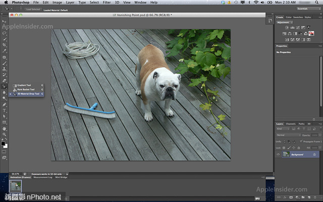 Adobe Photoshop CS6截屏泄露
